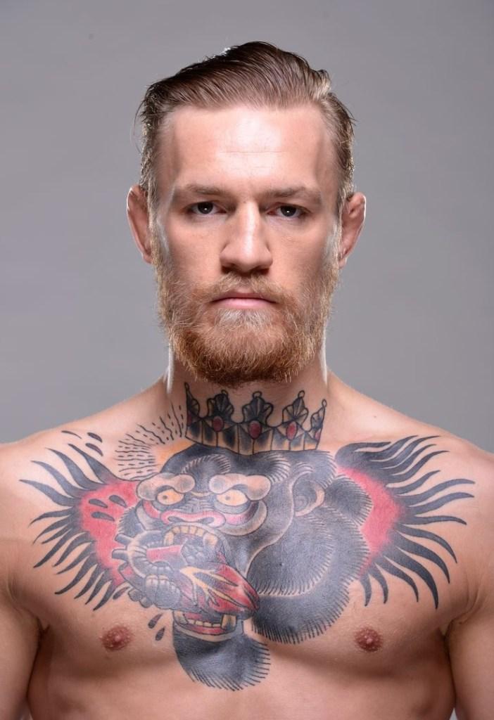 Конор макгрегор фото татуировок